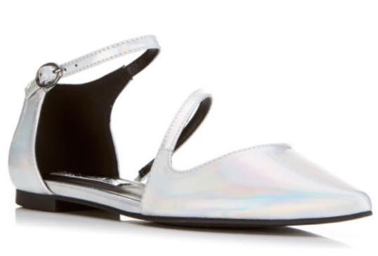 cropped shoe